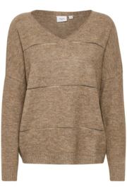 Saint Tropez- Taupe pullover