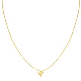 """Bee mine"" necklace"
