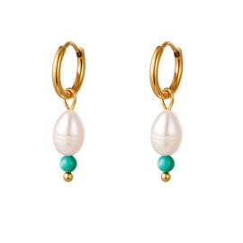 """""""Liz pearl earrings"""""""