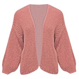 Comfy vest- blush