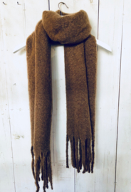 Sjaal Soft- brown