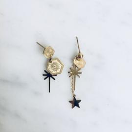 A-symmetrical earring set