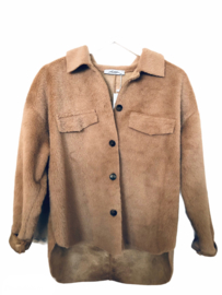 Furry jacket - Tan