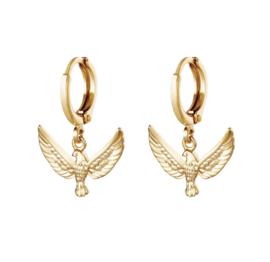 """""""Fierce Eagle earrings"""""""