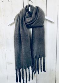 Sjaal Soft- mid grey