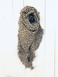 """Leopard scarf"""