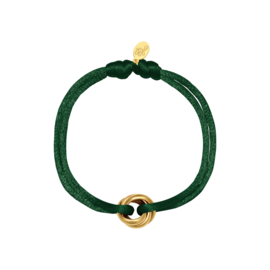 Triple ring bracelet - Autumn colours