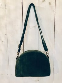 Suede bag- green