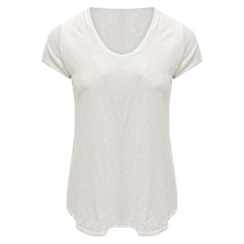 Perfect linnen basic T- white