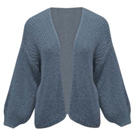 Comfy vest- middenblauw