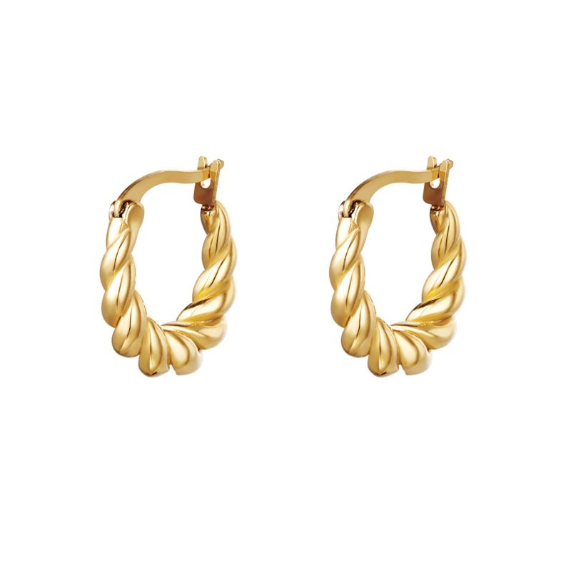 """""""Dangling twist earrings"""""""