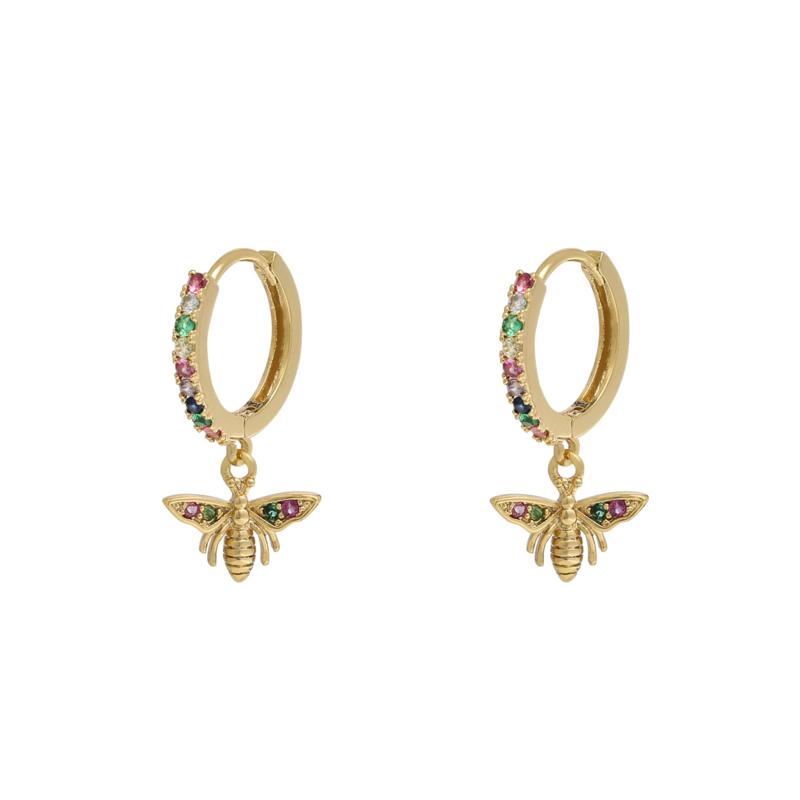 """Lucky Bee earrings"""