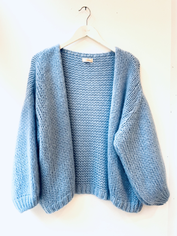 Comfy knit- babyblue