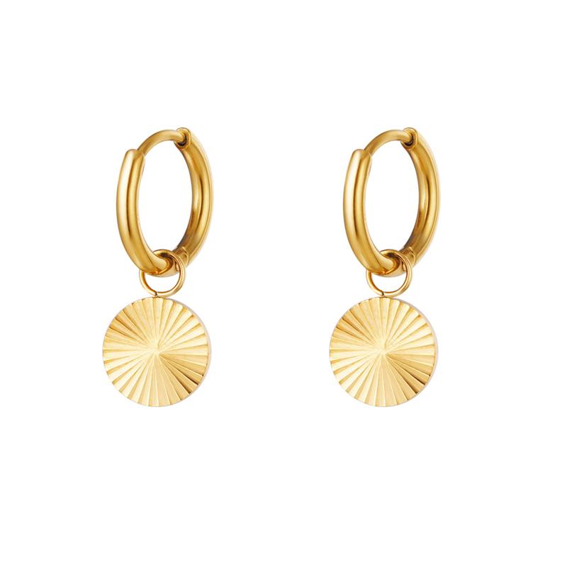 """""""Little disc earrings"""""""