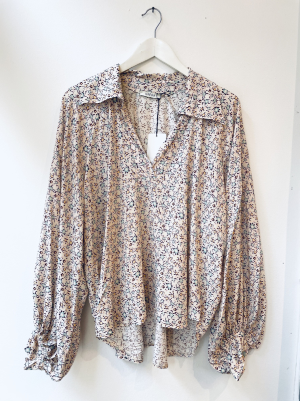 """Marie print blouse"""