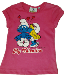 T-Shirt rose My Valentine