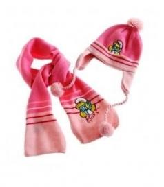 Muts en Sjaal Pink