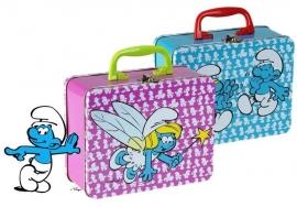 Smurfen koffertje