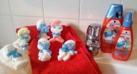 Luilaksmurf zeep