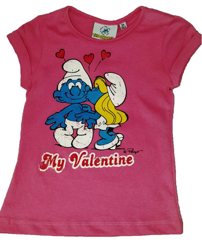 T-Shirt rose My Valentine