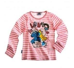 T-shirt Pink/White Love