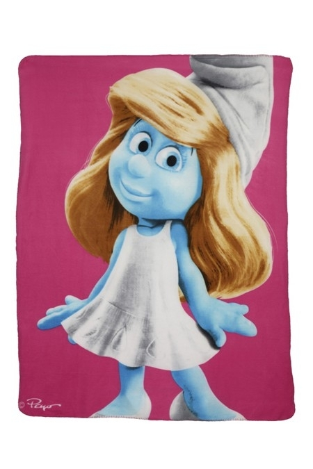 Fleece Movie Smurfin