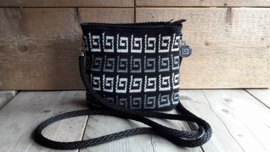 Mini mochila ovaal black2grey
