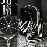 Zebra patroon GROOT