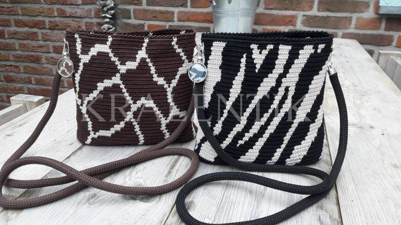 Ovaal MINI Zebra