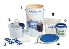 STORE and GO SYSTEM ( Kwasten in Gel) BASIC COMPLEET