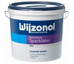 WIJZONOL Spacklatex Wit 10 Liter