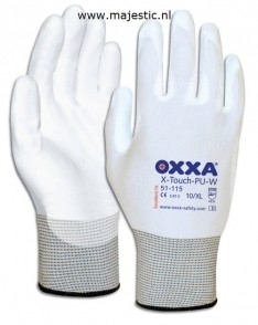 Schilderen schuur Handschoen. OXXA X-Touch-PU-W   3 pr in verpakking  L