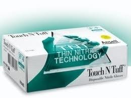 Nitril werk en beschermingshandschoen (ANSELL HANDSCHOEN TOUCH & TUFF NITRIL)