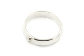 Galerie Puur - Ring met buisje diagonaal - 9750