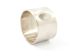 Galerie Puur - Ring zilver met vervorming - 9759