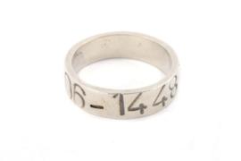 Galerie Puur - Ring met gegraveerd telefoon nmr - 9747