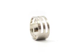 Nena Origins- Ring zilver half open - 11232