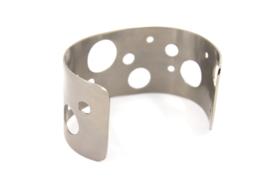 Galerie Puur - Armband titanium - 11037