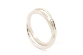 Galerie Puur - Ring zilver kruislinks - 9339