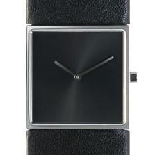 Horloge vierkant zwart/zwart DST-DC-003