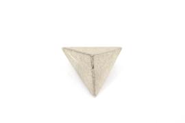Janneke de Bruin - Zilveren hanger driehoek - 10455