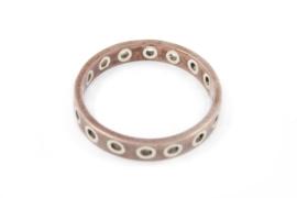 Galerie Puur - Ring goud met zilveren rondjes - 240