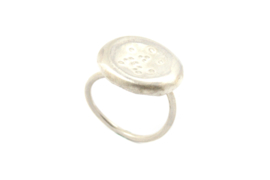 Maja Lava - Ring zilver Cosmos collectie - 11346