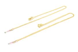 Galerie Puur - Collier goud verguld met toermalijn - 11463