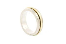 Galerie Puur - Ring met geel gouden draad - 11028