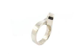 Galerie Puur - Ring zilver in 8 vorm