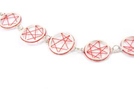 Klenicki Jewelry - Collier dromenvanger rood - 11158