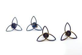 AW Edelsmeden - Titanium oorstekers - AWO -15