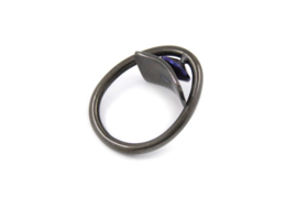 AW Edelsmeden - Ring zirkonium en titanium rechthoekig - AWR -7