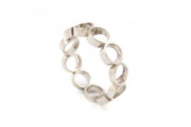 Galerie Puur - Ring uit zilveren cirkels - 11032